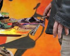 Manos creando (Angeles2021) Tags: canon manos colores pintura artista