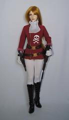 Queen Emeraldas (ves-chan) Tags: cosplay carina queen sd pirate captain bjd harlock emeraldas iplehouse