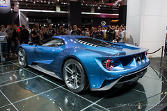 Ford GT - 2015 (Perico001) Tags: auto cars ford germany deutschland frankfurt autoshow voiture prototype vehicle gt autosalon coup motorshow duitsland iaa conceptcars gt40 2015 vhicule internationaleautomobilausstellung fordusa