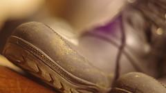 2/11 : La reprise (Nemossos) Tags: boot shoe sable dry slush stable chaussure caoutchouc curie bottine phovember