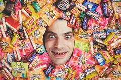 Self portrait - Candy is dandy!