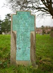 The grave of Alice Heal (IanAWood) Tags: pinner londoncemeteries artscraftsmovement londonboroughofharrow walkingwithmynikon nikkorafs24mmf14g pinnercemetery nikondf