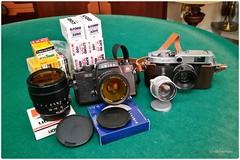 Ready...Set...Go...! (dcanalogue) Tags: camera leica slr classic film canon vintage lens focus kodak tmax 8 rangefinder super ishootfilm m iso summicron xp2 400 porn p re mm manual 12 jupiter 50 35 70 ilford elmar find f28 isf lenses tmy f35 vario f20 leitz filmisnotdead 400tmy filmforever
