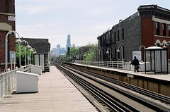 The El (jmaxtours) Tags: wickerpark chicago theel l thel the damenstation