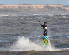 PC311828-Edit (Brian Wadie Photographer) Tags: gulls oystercatcher windsurfing kiting em1 goodlight 14xtc avonbeach canon70300lis hemgistburyhead