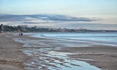 A Walk On The Beach (Tilney Gardner) Tags: branksomebeach beach southcoast dorset nikon seascape sea