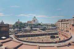 Rione Monti - Trajan's Forum (fabiofichi) Tags: rionemonti monti imperialforums foriimperiali foroditraiano trajansforum roma rome