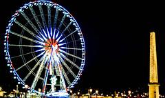 Place de la Concorde (Dominique.B88) Tags: 1855 d5300 dslr dark lowlight night nikon outdoor paris photography placedelaconcorde popular travel