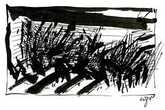 Wolfram Zimmer: War - Krieg (ein_quadratmeter) Tags: wolfram zimmer bilder kunst malerei zeichnung images foto photo fotos photos gemlde wolframzimmer konzeptkunst objektkunst meinzimmer freiburg burgbirkenhof kirchzarten ausstellung ausstellungen pinsel tusche ink dessin exhibition exhibitions drawing landschaft landscape improvisation