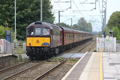 WCRC 37668 & 33207 tnt (uksean13) Tags: 37668 33207 wcrc alsager branchlinesociety railtour train transport railway rail diesel maroon thecliffehopper canon 760d ef28135mmf3556isusm