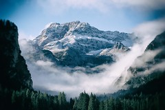 Misty Morning (beudii) Tags: süd tirol südtirol south alpen alps europa italy italien europe mountains berge gebirge landscape nebel morgen morning wandern hiking dolomiten landschaft herbst fall outdoor hohe gaisl