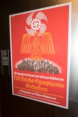 Nazi orchestra poster (quinet) Tags: 2013 allemagne deutschland germany hakenkreuz munichstatemuseum mnchen nsdap rassismus stadtmuseummunich nazi racism racisme svastika swastika munich bavaria