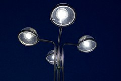 The answer is 42 (Cozla) Tags: steel abstract outdoor night lights number adams 42 liness minimal