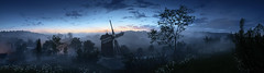 A New Dawn (D u b l) Tags: ea dice electronic arts photoshop world war i 1 one single player mode fps first person shooter bf1 video game screen shot screenshot pc outdoor landscape windmill dawn