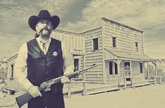 Sheriff (hunter_185) Tags: cowboy pipesmoking tobaccopipe tobacco