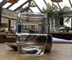 5799 Glass of water (Andy - Busyyyyyyyyy) Tags: 20161110 bhday13 broughholiday ccc conservatory ggg glass harome refractions rrr thepheasantinn water www yorkshire