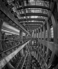 Vancouver Public Library - Central Branch (Jovan Jimenez) Tags: vancouver public library bc samsung s7 edge camera fv5 architecture inside indoor interior pano panorama panoramic kolor autopanopro autopano giga pro nikcollection silvereffects britishcolumbia canada pixel