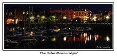 The Calm Marina Night (Oul Gundog) Tags: boats calm marina night lights yachts cruisers bangor co down northern ireland ulster