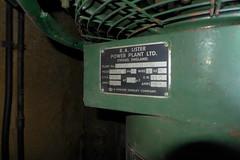Plant Room, Dagenham Borough Control bunker (looper23) Tags: dagenham borough control nuclear bunker civic centre cold war civil october 2016 london