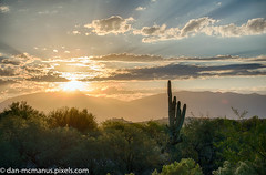 Desert Sunrise (Kukui Photography) Tags: canyon ranch arizona hdr saguaro sunrise tucson canyonranch