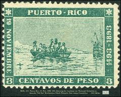 """MiNr. 101. Puerto Rico 5201 Mfake 19. Nov. 1983. 400. Jahrestag der Landung von Christoph Kolumbus in Amerika """"240 Eur"""" Briefmarken Falsch Philatelic Fake stamp Counterfeit (Morton1905) Tags: minr 101 puerto rico 19 nov 1983 400 jahrestag der landung von christoph kolumbus amerika 240eur briefmarken falsch philatelic fake stamp counterfeit 5201 mfake"""