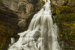 House Cleaning (Matt Champlin) Tags: saturday frontenac frontenacfalls water waterfall autumn november cold chilly gorge glen ithaca cayuga canon 2016 huge towering waterfalls barton