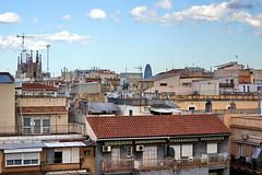 A view of Barcelona (Yuri Rapoport) Tags: sagradafamilia torreagbar gaudi casafuster domenechimontaner 2013 barcelona catalonia spain