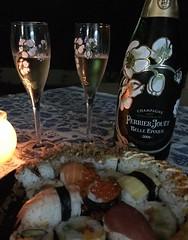 Perrier jouet belle epoque y shushi (vinosymaridaje) Tags: perrierjouet belleepoque champagne espumoso shushi
