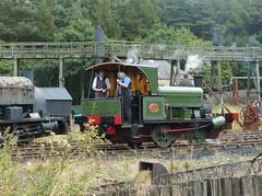 Considering the Next Shunt (Terry Pinnegar Photography) Tags: beamish museum countydurham steam shunter locomotive train railway 683 lewin thelewinseahamharbourdockcompany londonderry victorian