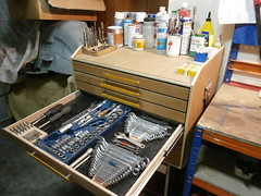 DIY particle board toolchest (hugojcardoso) Tags: diy tool chest toolchest toolbox plywood mdf workshop storage cabinet