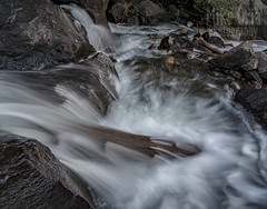 Cat's Paw (mikeSF_) Tags: california mammoth lakes waterfall falls water log cats paw mike oria pentax landscape