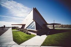 (jimh_7) Tags: future building architecture native a7rii 18mm leica oblique desert travel day sunny futurism design color reservation