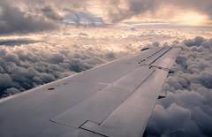 Wing & Clouds (PauliMatze) Tags: englandtortworthbristolschloss flug flight wing flgel wolken clouds sun sonne fliegen fly