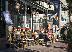 socializing (azar2007) Tags: holland volendam netherlands people outside outdoors dutch nikon d7100