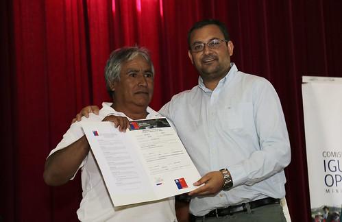 Entrega de bonificaciones a 115 agricultores de Pozo Almonte, Huara, Pica y Camiña