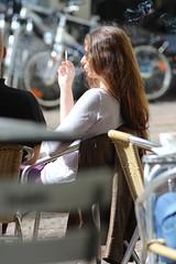 Exhale (if you insist) Tags: tobacco smoking smoker addict candid cigarette exhale eurosmoke enjoy pleasure
