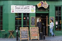 Sports for everyone (dorablanco) Tags: bar sports young football edinburgh street