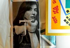 newspaper (bluebird87) Tags: art women newspaper nikon d600 fx 50mm