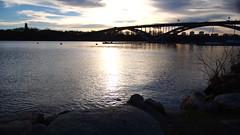 Västerbron (The West Bridge) (mpersson60) Tags: stockholm vatten water bro bridge västerbron mälaren