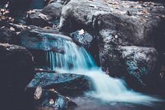 @FYABRIANSCOTT (fya_brianscott) Tags: blue season fall movement nature beauty nikon beautiful earth world travel mood long exposure time color colorful tones outside outdoors woods nj