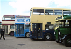 (Former) Sandy Lane bus garage, Coventry in 2012 (used by Coventry Transport/WMPTE)