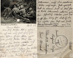 Field Post Card 19th Sept 1939 (Bury Gardener) Tags: postcard postcards oldies german army military germanarmy 1939 1930s war soldier history panzer