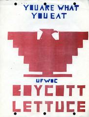 Boycott Lettuce, 4-26-1971 (Regional History Center & NIU Archives) Tags: boycott demonstration protest niu northernillinoisuniversity students activism