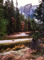 Windy RIver (Nancy N Hsieh) Tags: yosemite valley river mountain halfdome nationalpark nature landscape