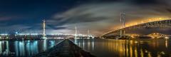 All 3 Bridges (Paul S Ewing) Tags: scotland uk forthroadbridge forthrailbridge firth forth landscape panoramic transport