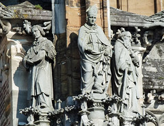 In Ulm .. Münster, Fassade (dierk schaefer) Tags: deutschland germany allemagne badenwürttemberg ulm dierkschaefer