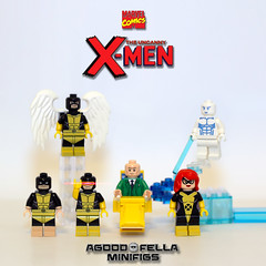 X-Men First Class v.3: Founding Members [GROUP] [COMICS] [MOC] (agoodfella minifigs) Tags: lego marvel marvellego legomarvel minifigures marvelcomics comics heroes legosuperheroes legomarvelsuperheroes legoxmen minifigure moc mod cyclops professorx angel jeangrey iceman beast
