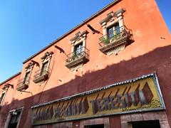 Botica de Santa Teresita, pharmacy in San Miguel de Allende, Mexico (Paul McClure DC) Tags: sanmigueldeallende mexico bajo guanajuato nov2016 historic architecture sign