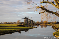 20161203-IMG_1442 (SGEOS@EARTH) Tags: molens driemanspolder landschap polder canon eos 5dmarkiv reflection
