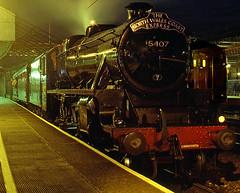 5 by night (midcheshireman) Tags: steam train locomotive class5 cheshire crewe night northwalescoastexpress